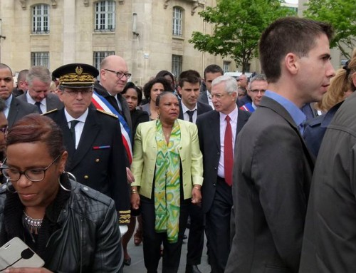 Taubira à Saint-Denis pour les victimes de l'esclavage colonial