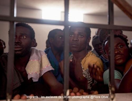 Non au retour de la traite transsaharienne et de l'esclavage des nègres en Libye !
