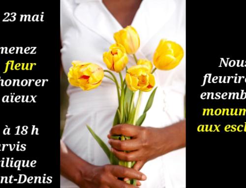 23 mai : emmenez une fleur pour honorer vos aïeux