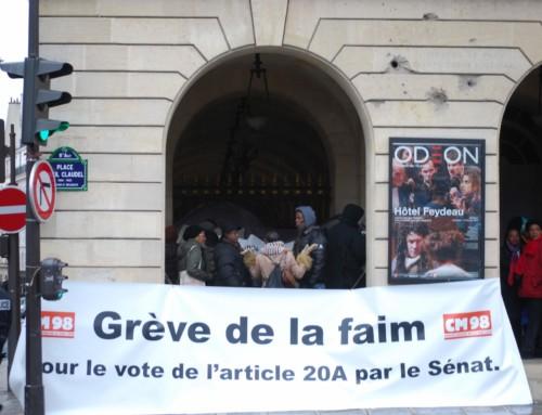 Il y a 3 trois ans, le président du CM98 faisait une grève de la faim !