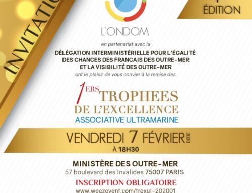 Trophées de l'Excellence Associative Ultramarine au Ministère de l'Outre-Mer