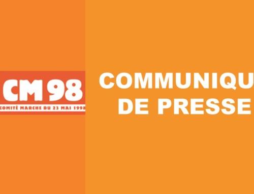 Communiqué de presse : 23 mai 2020 journée nationale en hommage aux victimes de l'esclavage colonial