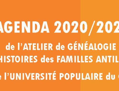 Le programme de l'année 2020-2021