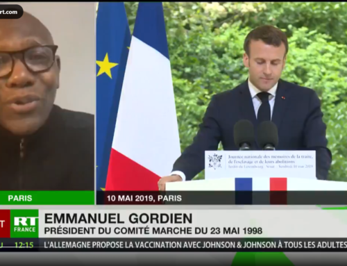 Interview Emmanuel Gordien avec RT France