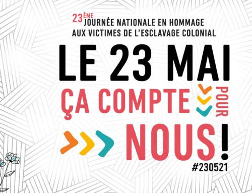 23 mai 2021 Journée nationale en hommage aux victimes de l'esclavage colonial